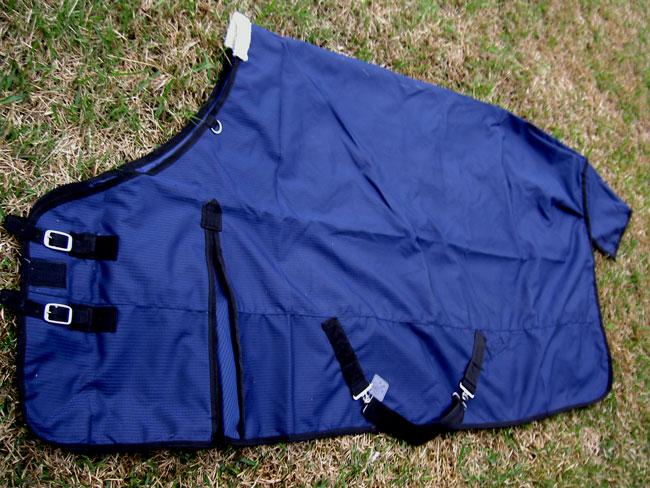 66  1200D Turnout  Rain Horse SHEET Light Winter Blanket Navy 313