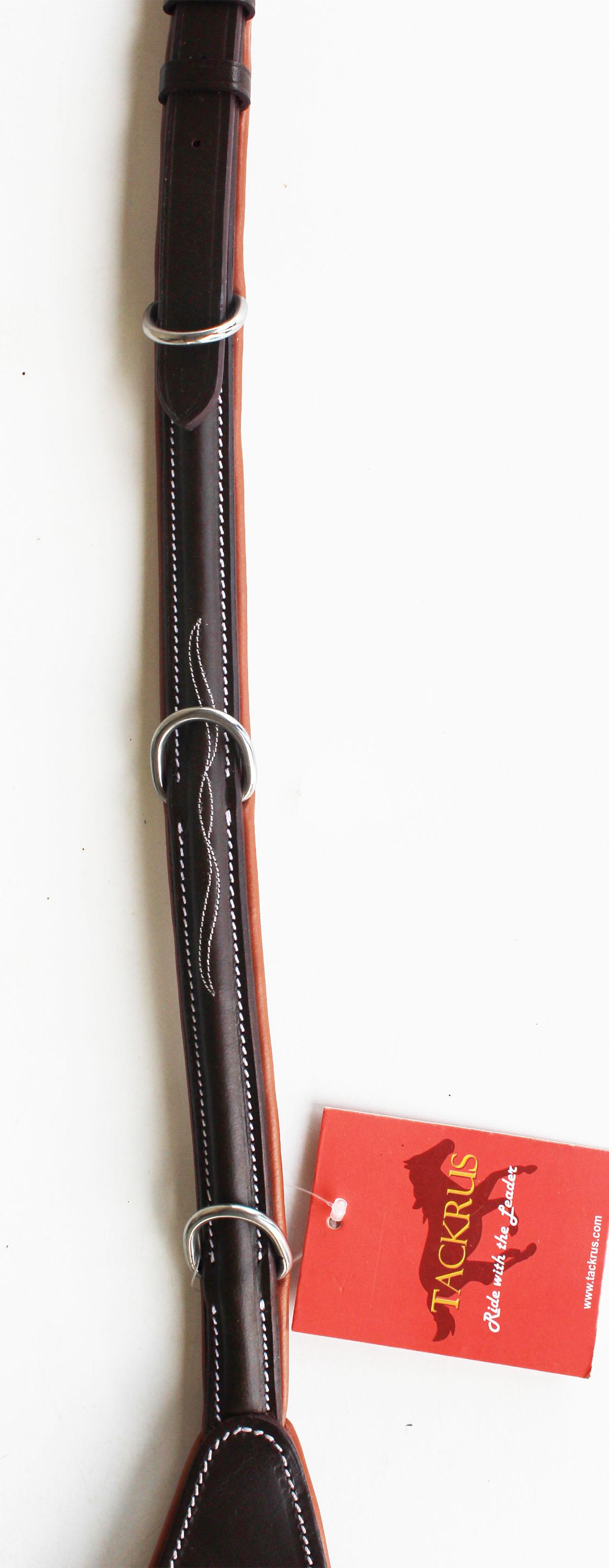 Inglés caballo de cuero cuero cuero acolchado planteado Costura Peto 803931P 4cd817