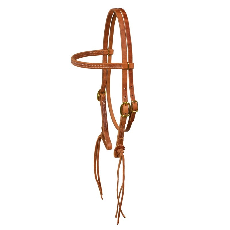 Horse Amish   Western  USA Hermann Oak Harness Leather Headstall 975H105  brand on sale clearance