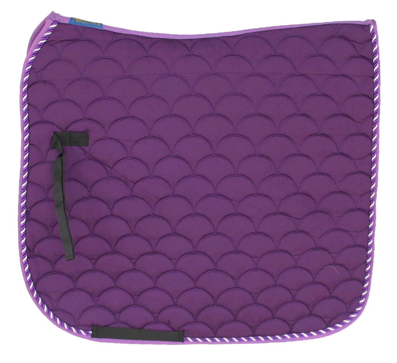 Horse-Quilted-ENGLISH-SADDLE-PAD-Trail-Dressage-7295 thumbnail 12