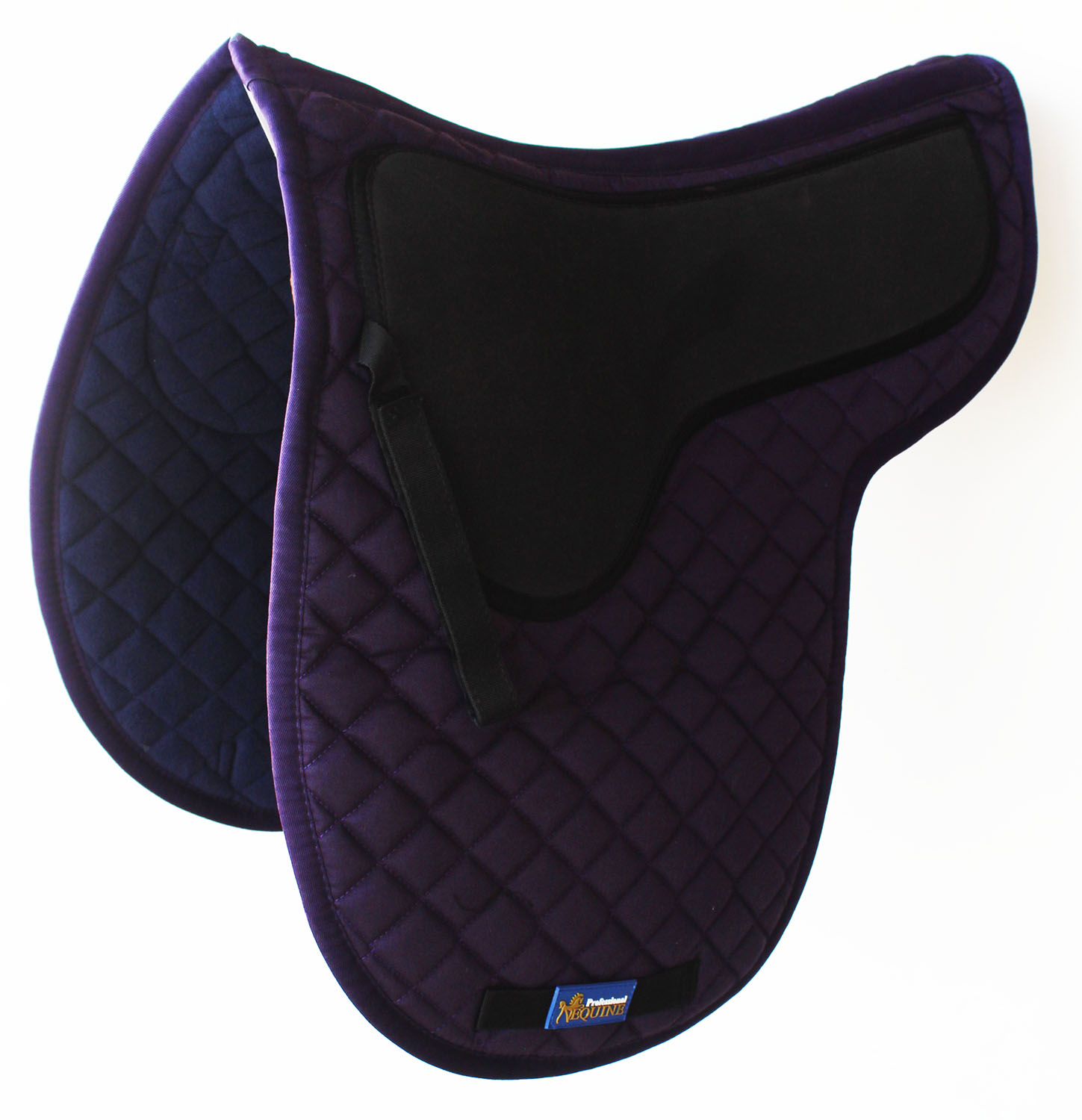 Horse Cotton Quilted  Jumping ENGLISH SADDLE PAD Trail Contoured Gel Purple 72F22  sale online save 70%