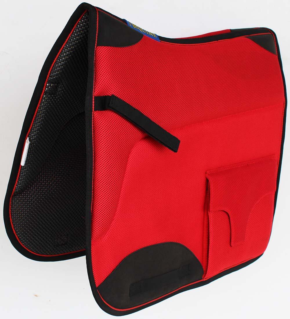 Horse English Endurance Non-Slip Neoprene Dressage Saddle  Pad 6401RD  new listing