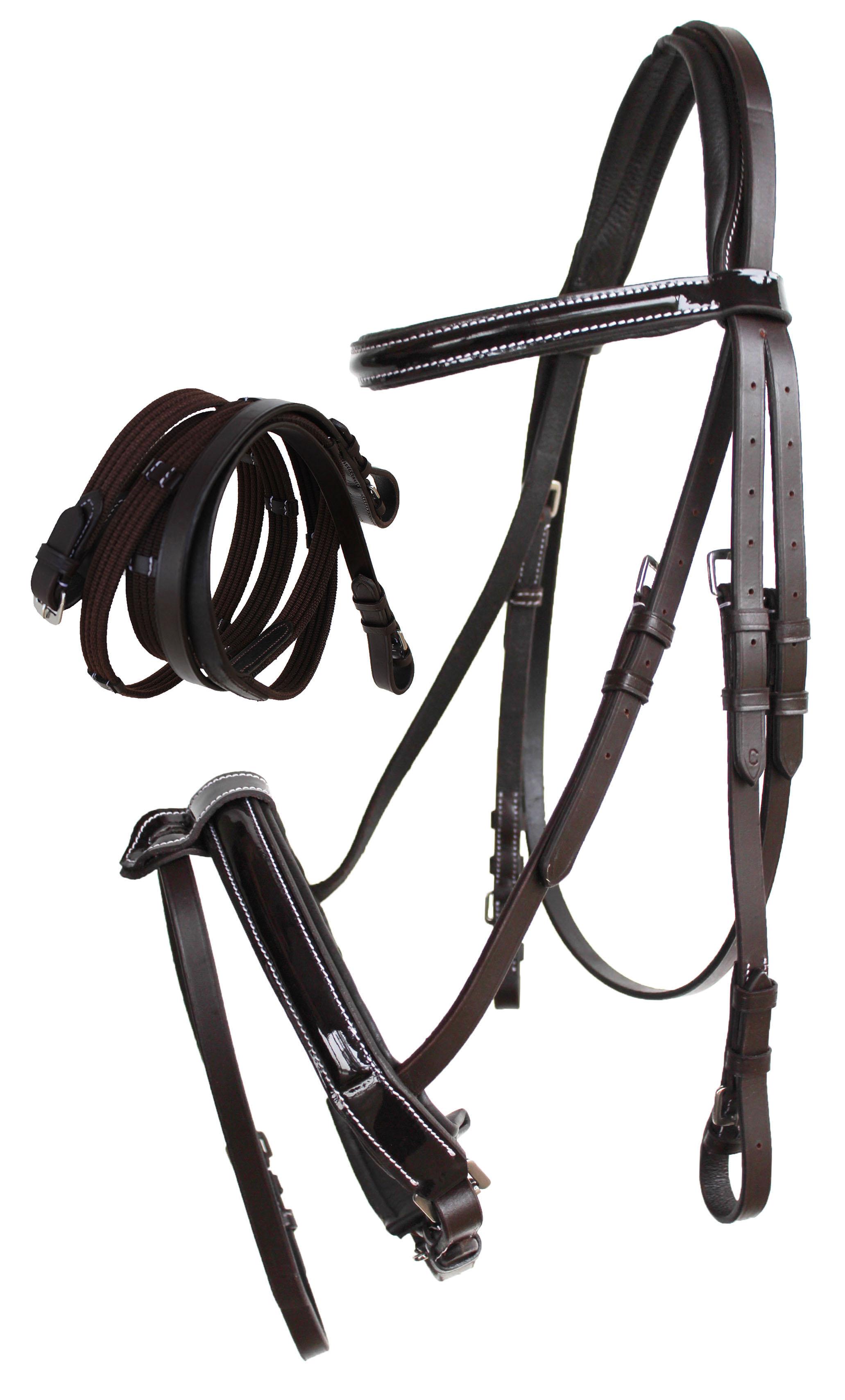 English All-Purpose Trail  Pleasure Leather Bridle Reins 805EB06  hot sales