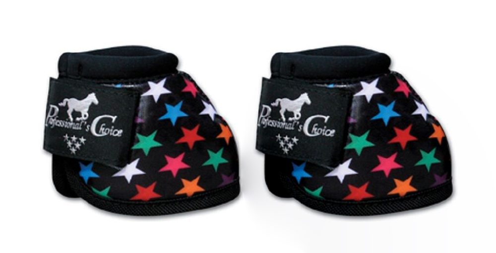 M-Professional-Choice-Horse-Secure-Fit-Bell-Boots-Black-Multicolor-93115