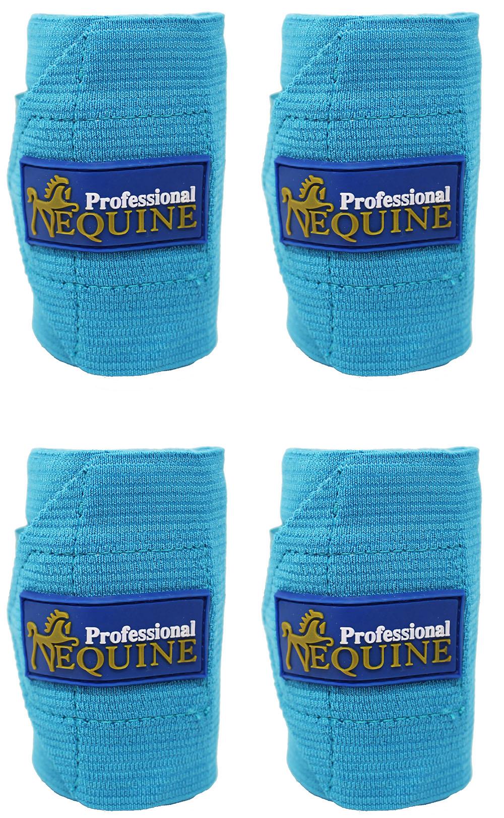 Horse Tack Grooming Leg set of 4 Polo Wrap Bandage 95F06