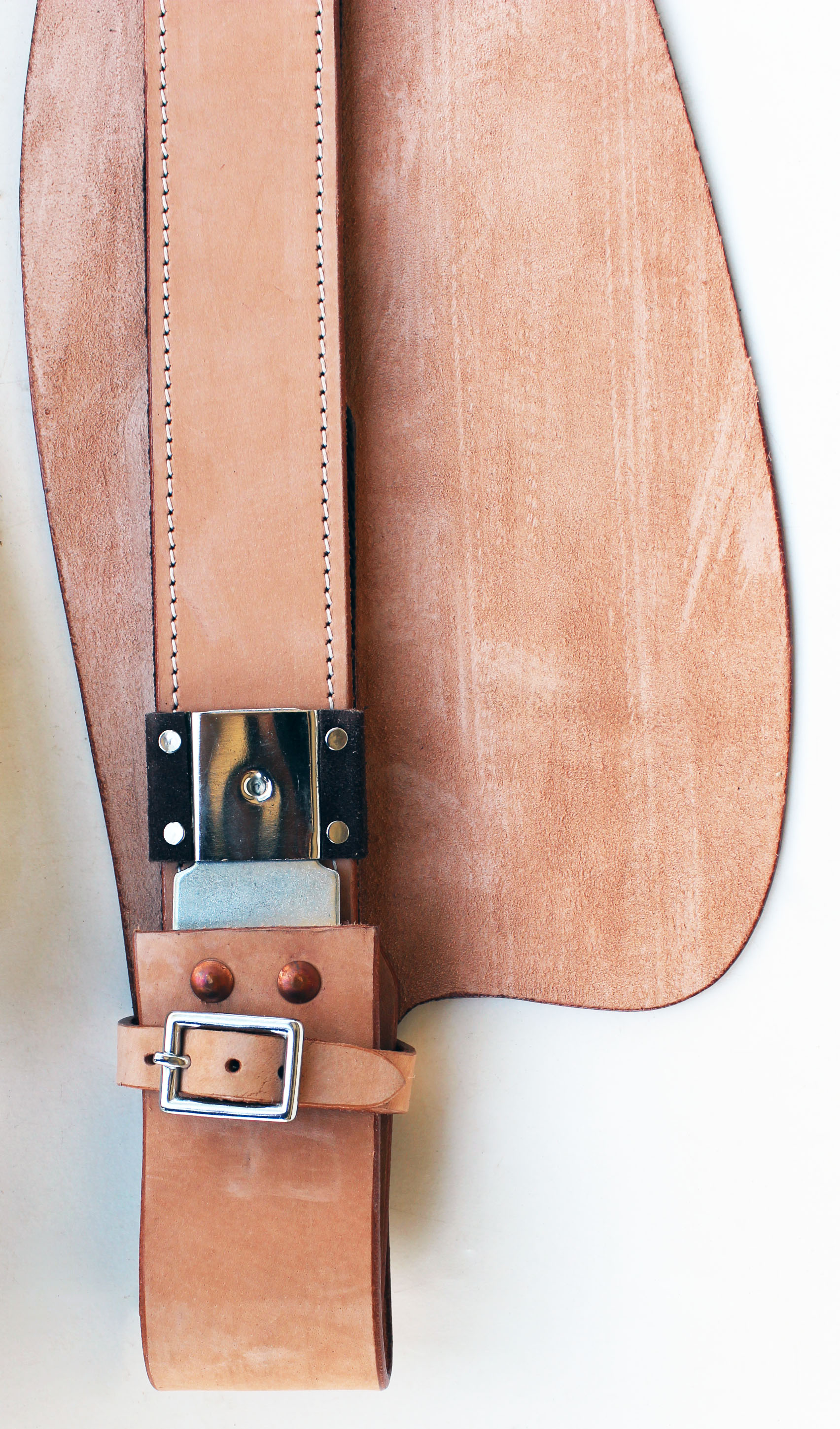 Horse Western Leather Replacement Saddle Fenders 52Fender