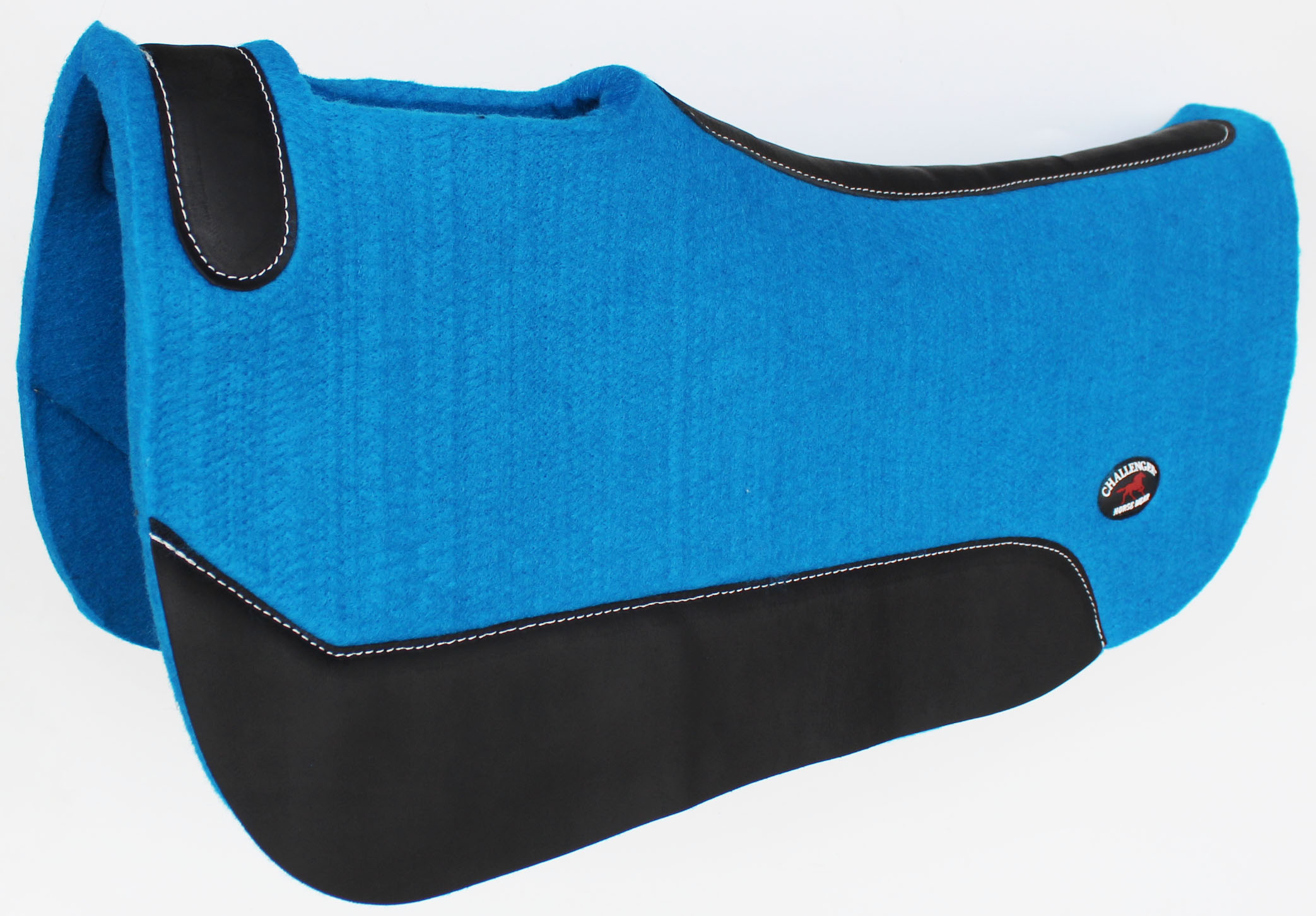 Horse SADDLE PAD Western Contoured Wool Felt Barrel Close Contact 39121RB1
