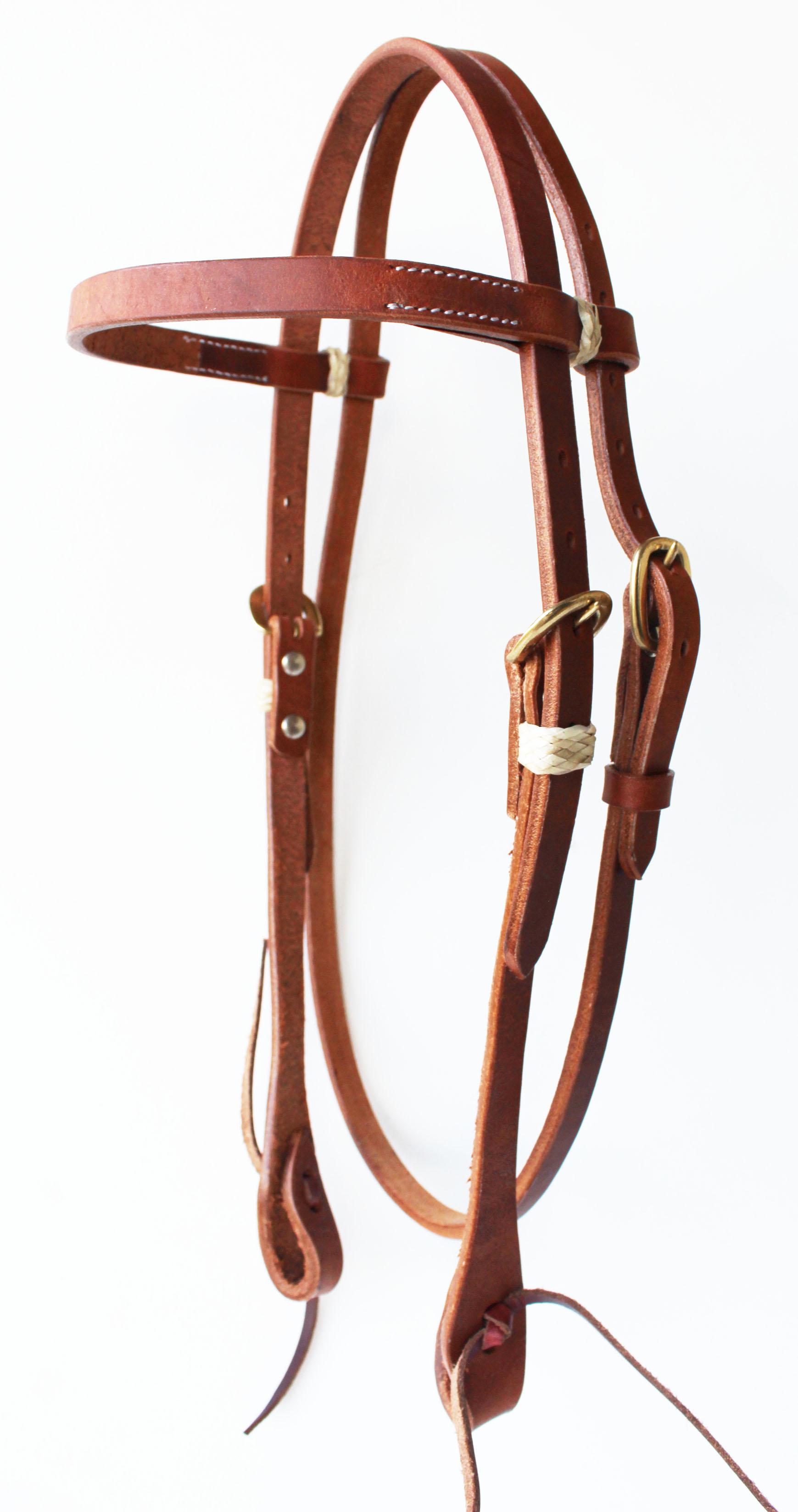 Amish Made Usa Leather Horse Saddle Western Headstall Bridle Tack Brass 78rt01 635778614298 Ebay
